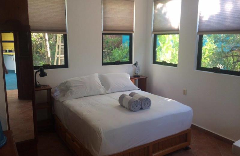 Guest room at Casa Playa Maya.