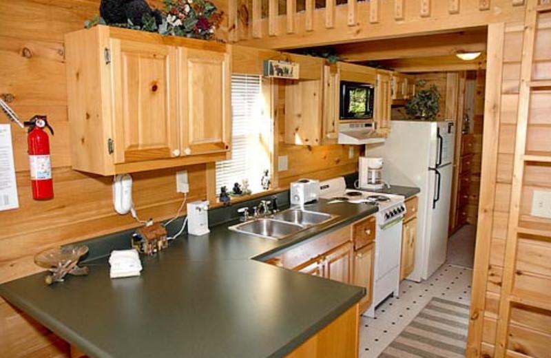 Kitchen Vacation Rental at Volunteer Cabin Rentals