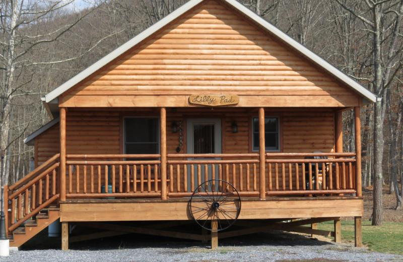 Cabin at Creekside Resort.