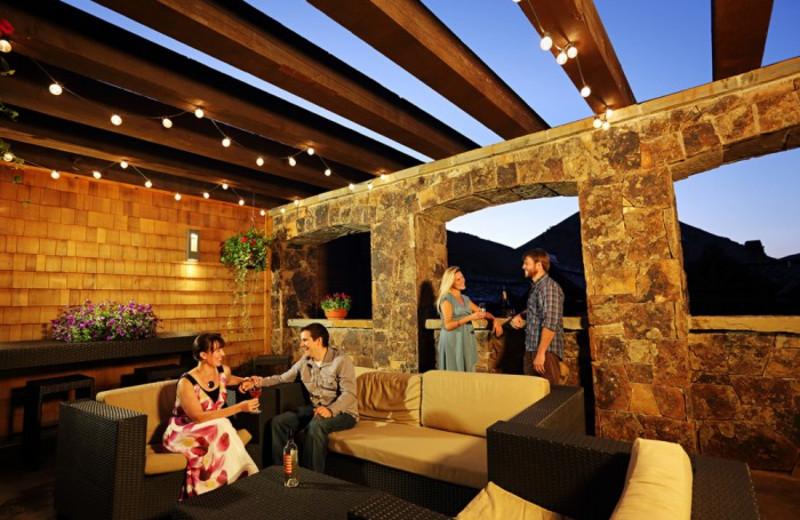 Lounge area at White Buffalo Club.