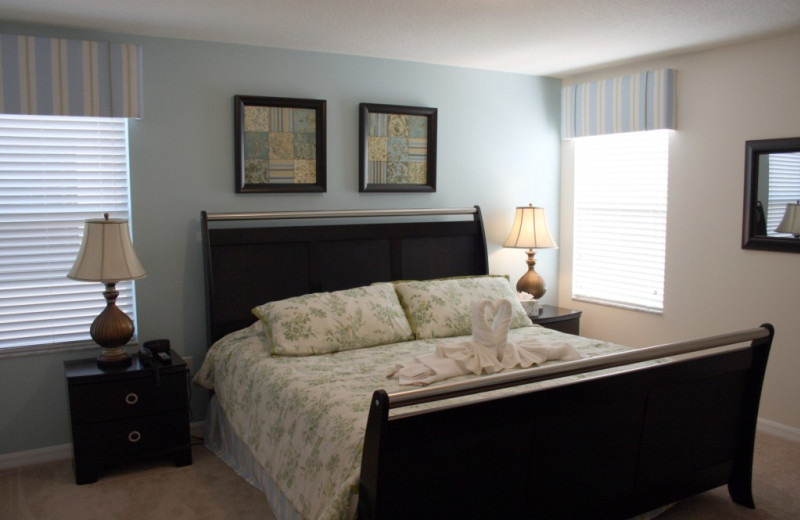 Rental bedroom at Florida Dream Management Company.