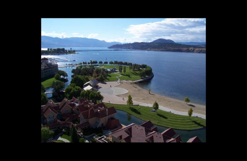 View from Kelowna Resort.