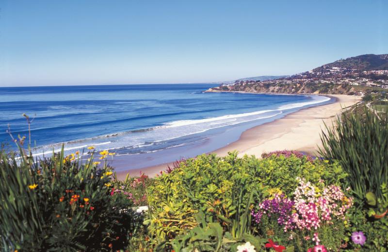 Beach at The Ritz-Carlton, Laguna Niguel.