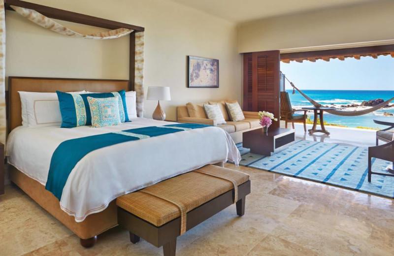 Guest room at Four Seasons Resort Punta Mita.