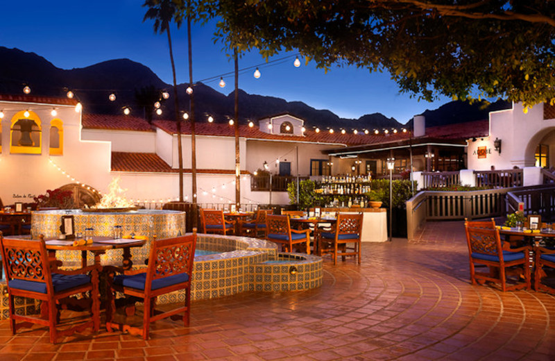 Outdoor dining at La Quinta Resort and Club.