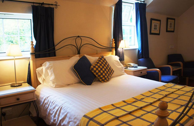 Guest room at Nant Ddu Lodge.