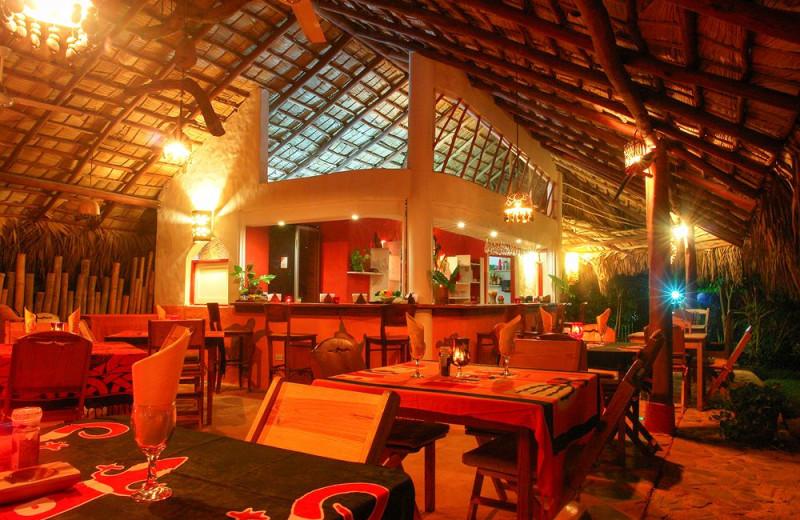 Dining at Hotel Las Tortugas.