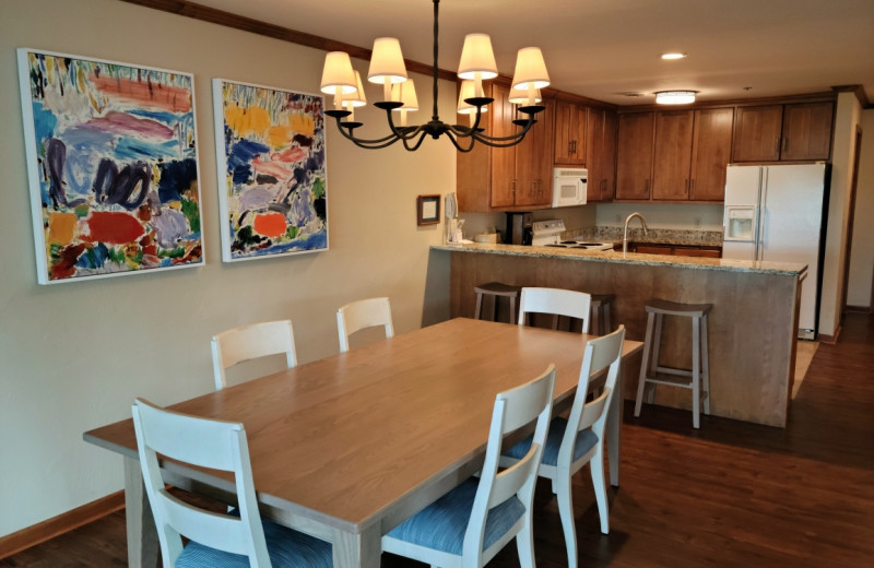 Guest kitchen at The Osthoff Resort.