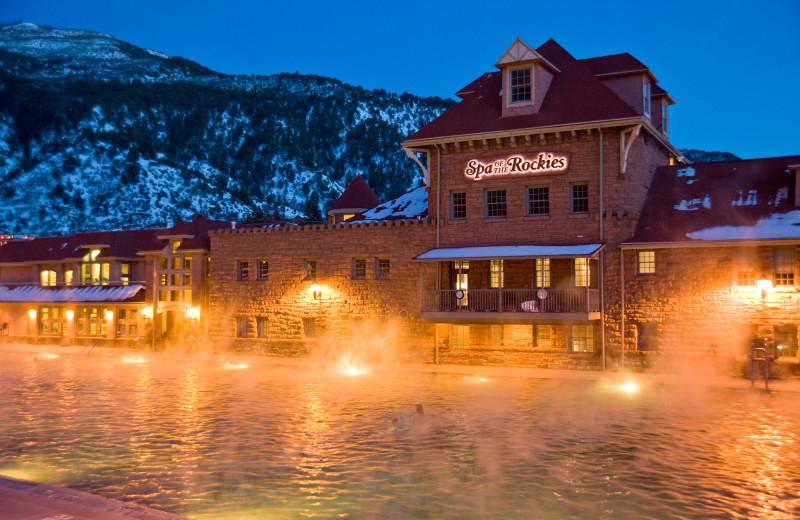 Hot spring at Glenwood Hot Springs.