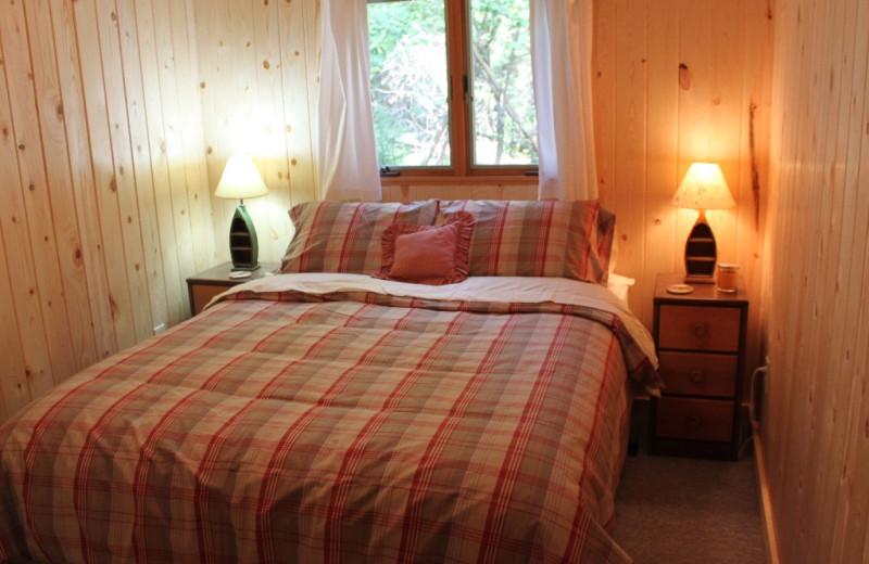 Bedroom at Living Room at  Caroline's Cottage