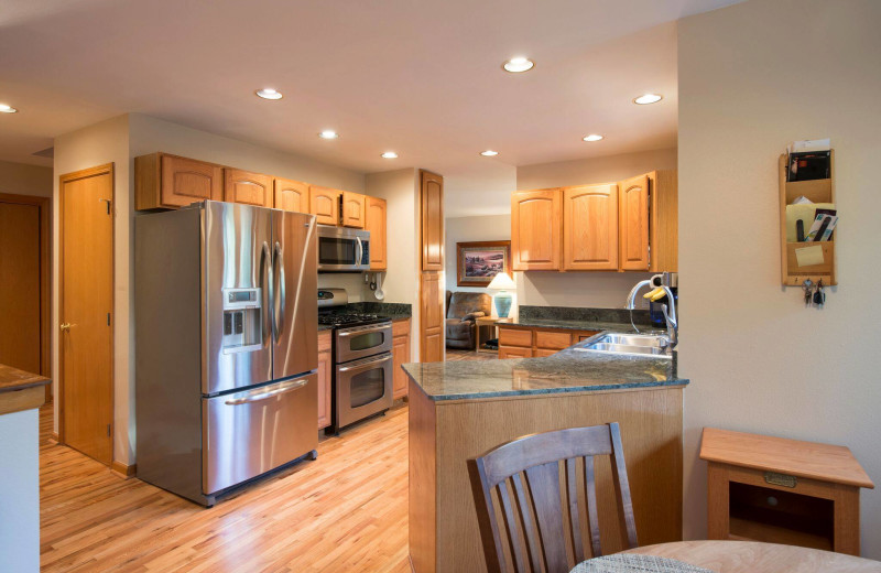 Rental kitchen at Smith Eaton Real Estate & Property Management.