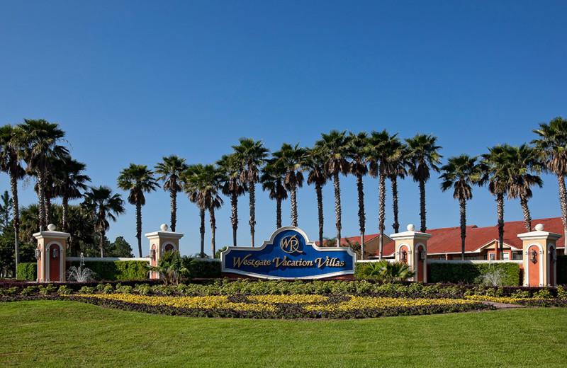 Entrance at Westgate Vacation.
