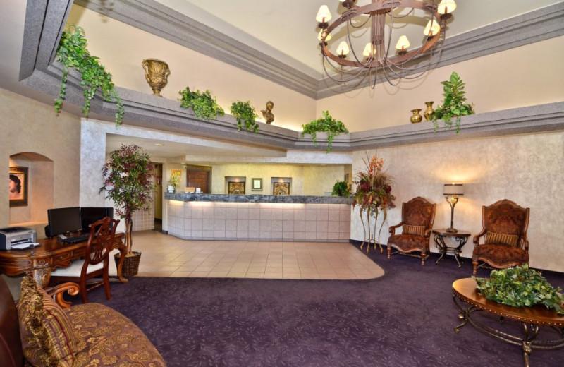 Lobby at Abbey Inn