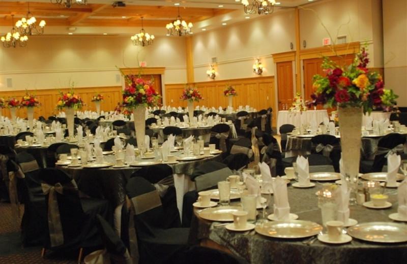 Banquet at The Heathman Lodge.