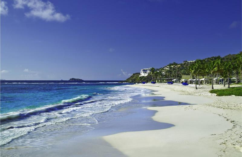Dawn Beach at The Westin Dawn Beach Resort.