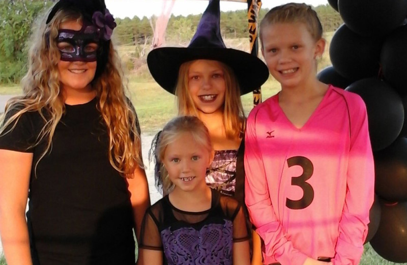 Halloween at The Homestead at Ottertail RV Park and Resort.