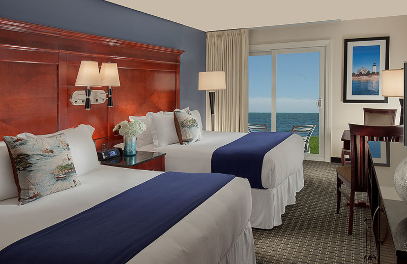 Guest Room at Ocean Mist Beach Hotel & Suites