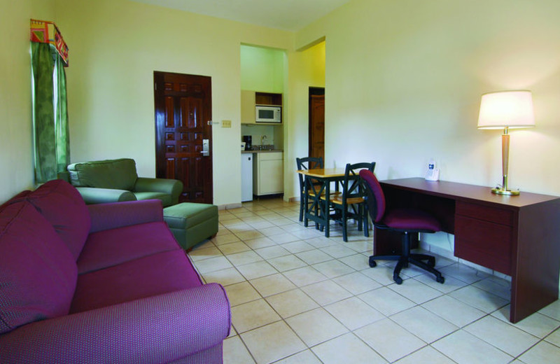 Guest room at Howard Johnson Downtown Mayaguez.
