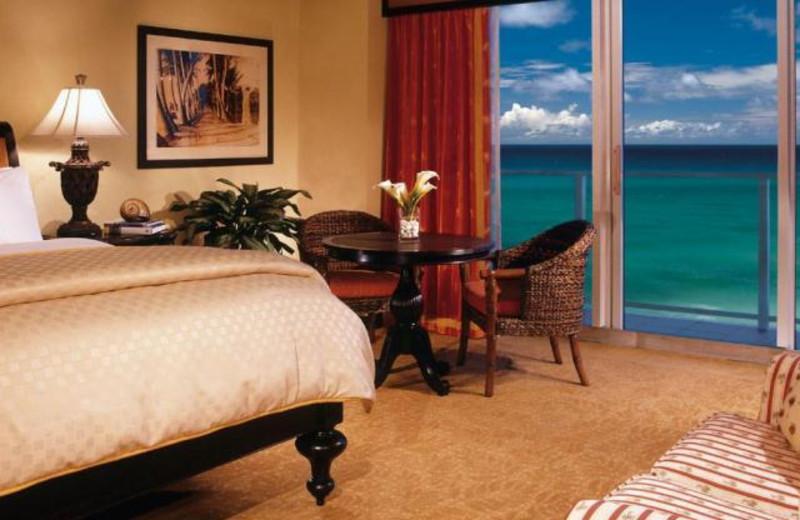Guest room at Jupiter Beach Resort.