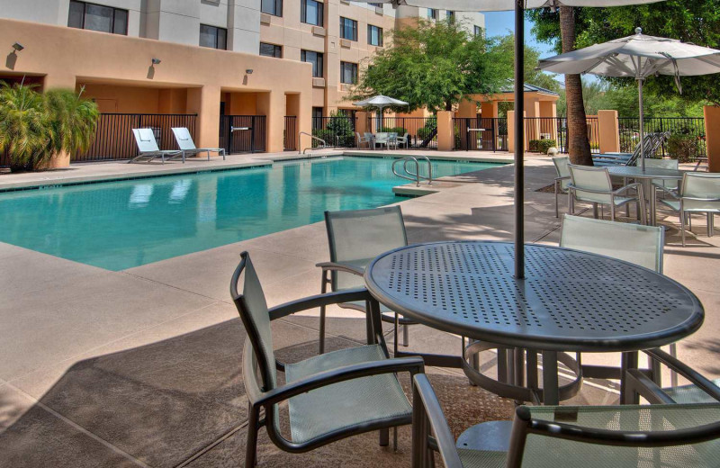 Outdoor pool at SpringHill Suites Scottsdale North.