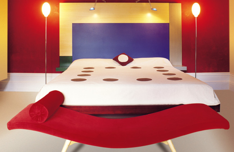 Guest room at Medusa Hotel.