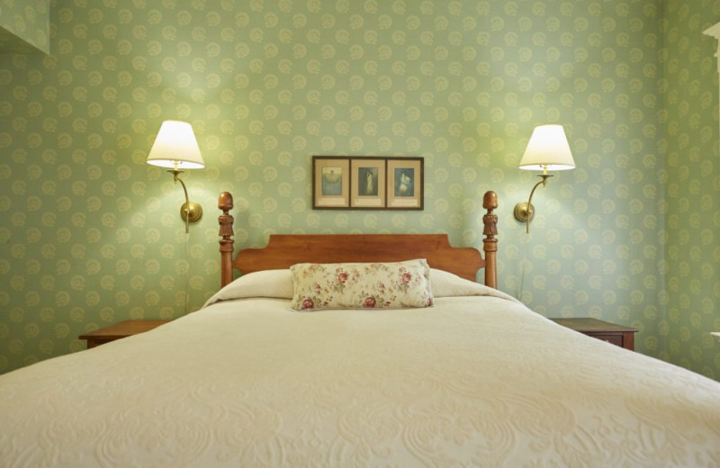 Guest room at Red Lion Inn.