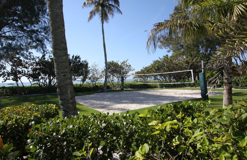 Volleyball court at Casa Ybel Resort.