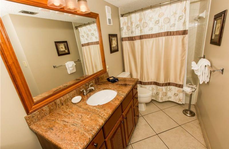 Bathroom at Holiday Isle Properties - Islander 212.