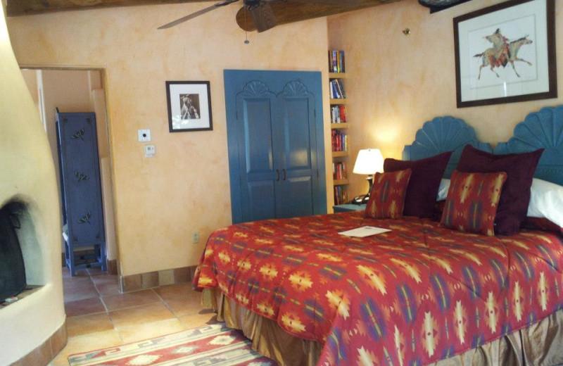 King suite at Inn on La Loma Plaza.