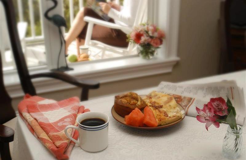 Breakfast at The Sunset Inn.