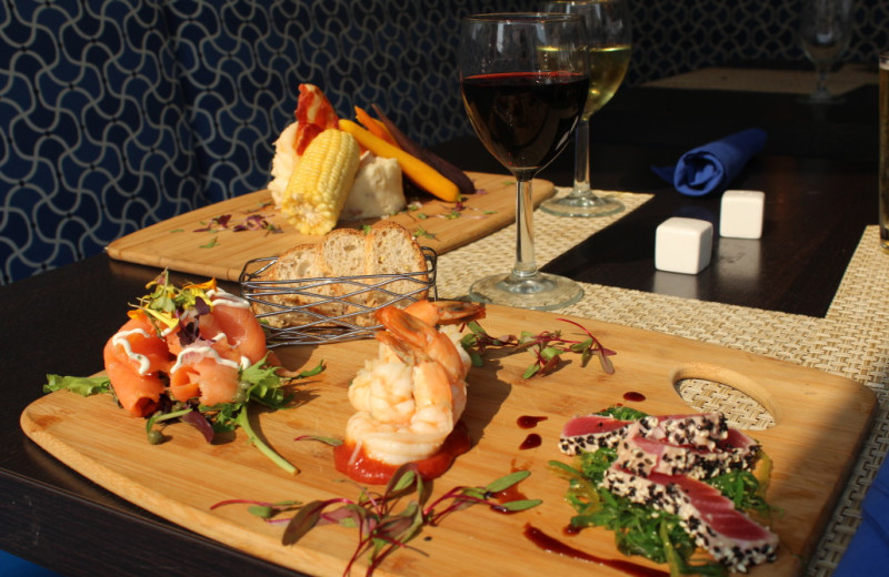 Dining at Icona Cape May.