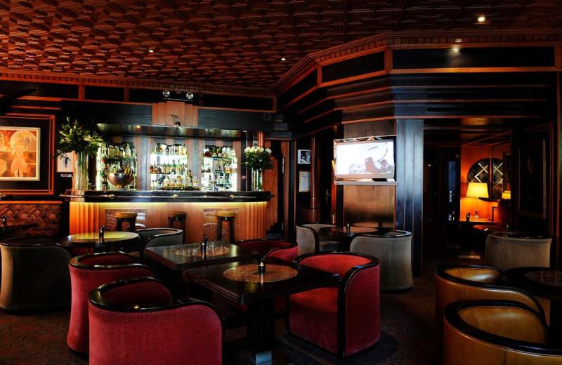 Bar at Hotel du Parc.