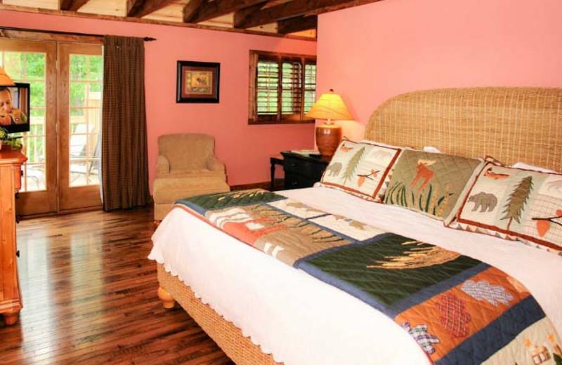 King Bedroom at Hidden Mountain Resorts