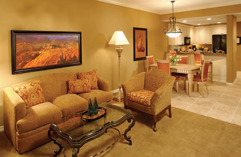 Suite Interior at Bellasera Hotel