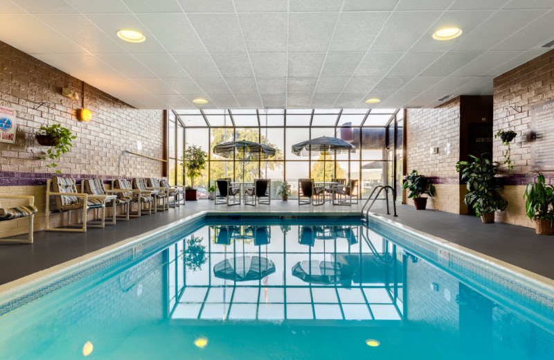 Indoor pool at Harbor Shores on Lake Geneva.