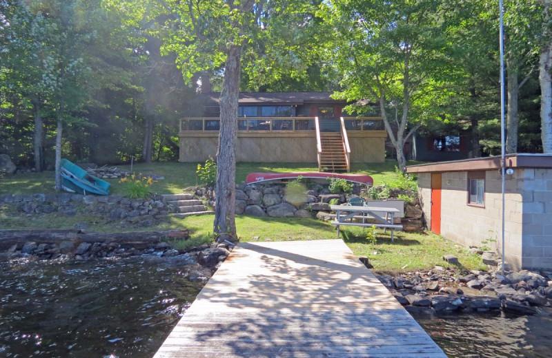 Rental exterior at All-Season Cottage Rentals.