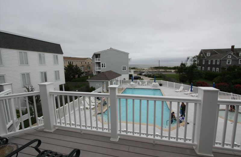 Rental pool at Jersey Cape Realty