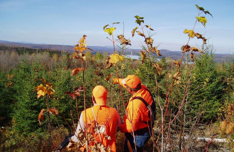 Hunting at Cabins at Lopstick.