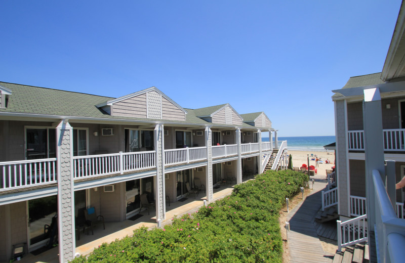 Exterior view of Ocean Walk Hotel.