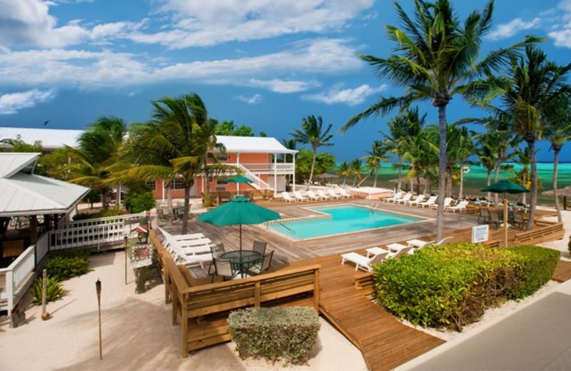 Exterior view of Little Cayman Beach Resort.