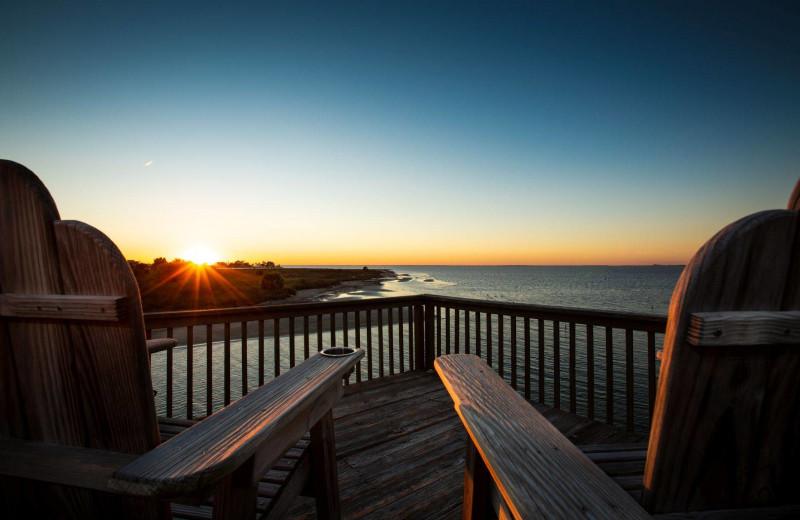 Rental dock at Gary Greene Vacation Rentals.
