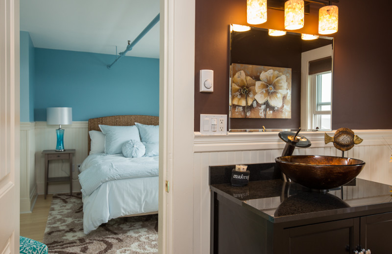 Guest room at The Nonantum Resort.