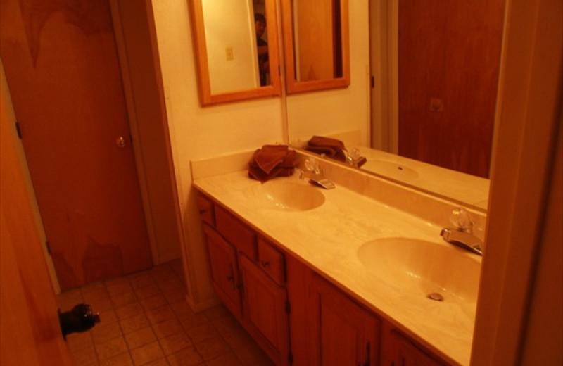 Spacious Bathroom at Lifts West Condominium Hotel
