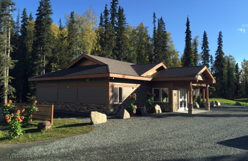Wellness center at Fishing at All Alaska Outdoor Lodge.