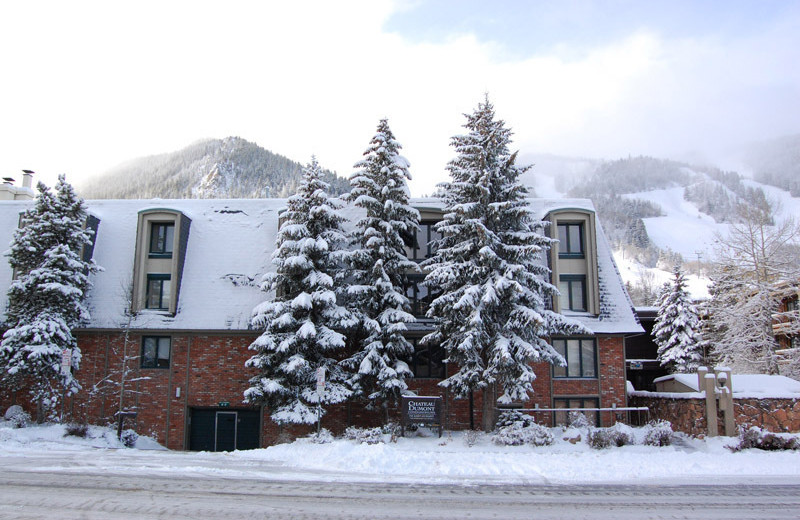 Rental  exterior at Frias Properties of Aspen - Chateau Dumont #2.