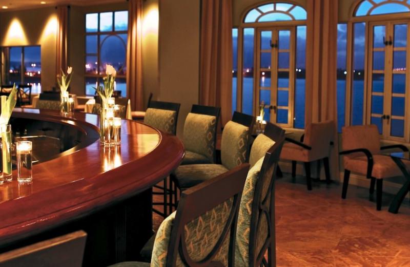 The bar at Loews Coronado Bay Resort.