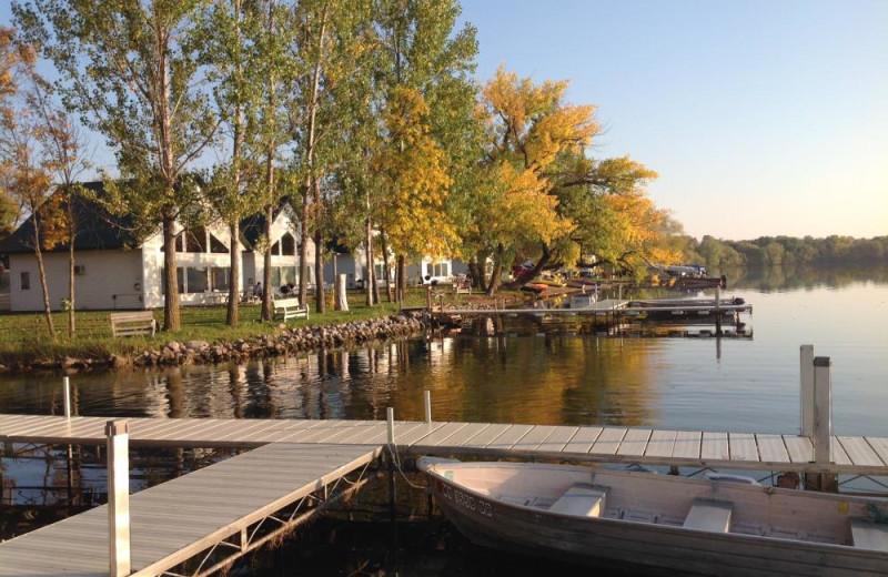 Exterior view of Brophy Lake Resort.