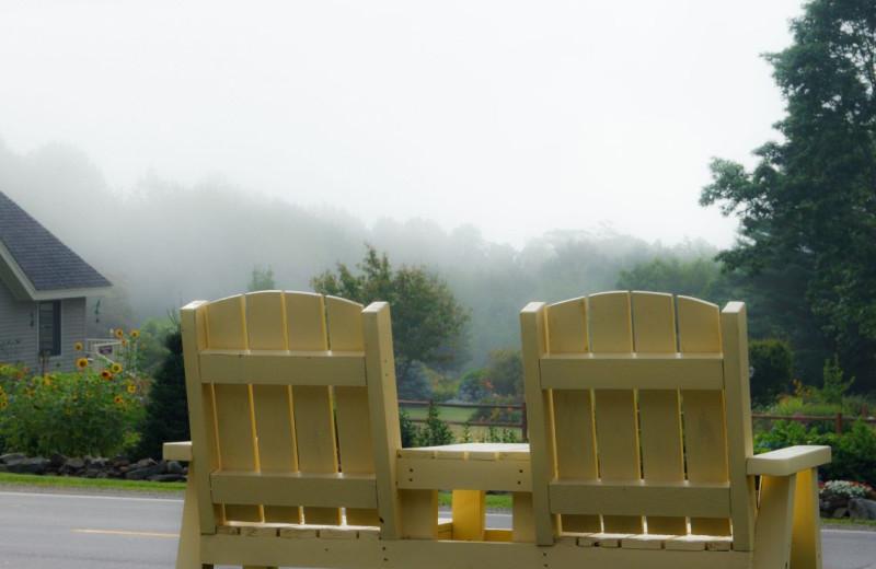 Chairs at Mount Battie Motel.