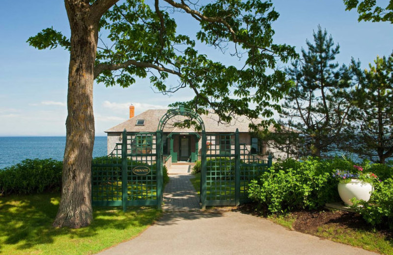 Cottage Exterior at The Samoset Resort