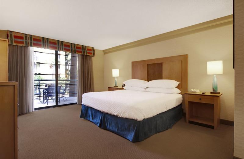 Guest room at Embassy Suites Phoenix - Biltmore.